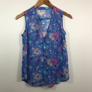 Womens X-S Mossimo Sleeveless Blouse